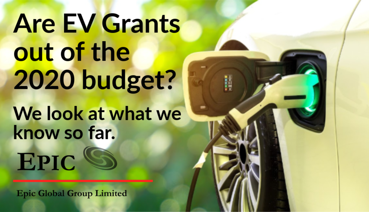 Electric cars, EV grants in 2020 budget, EV grants for cars in the UK